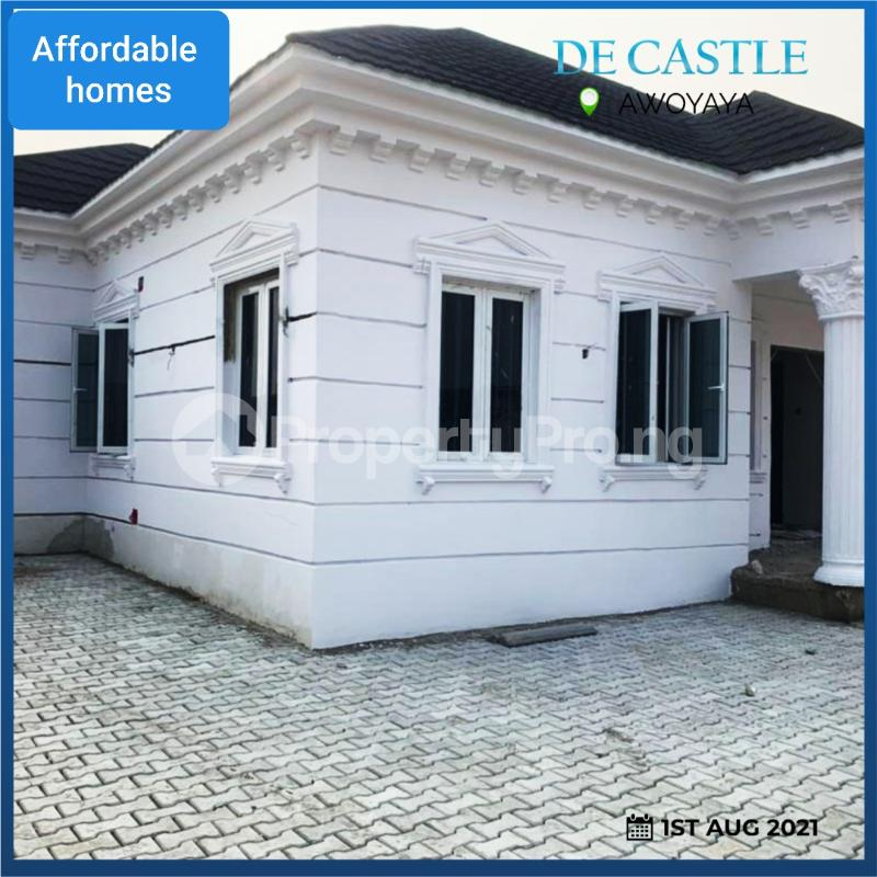 3 bedroom Detached Bungalow for sale In A Well Secured Estate Awoyaya Ajah Lagos - 2