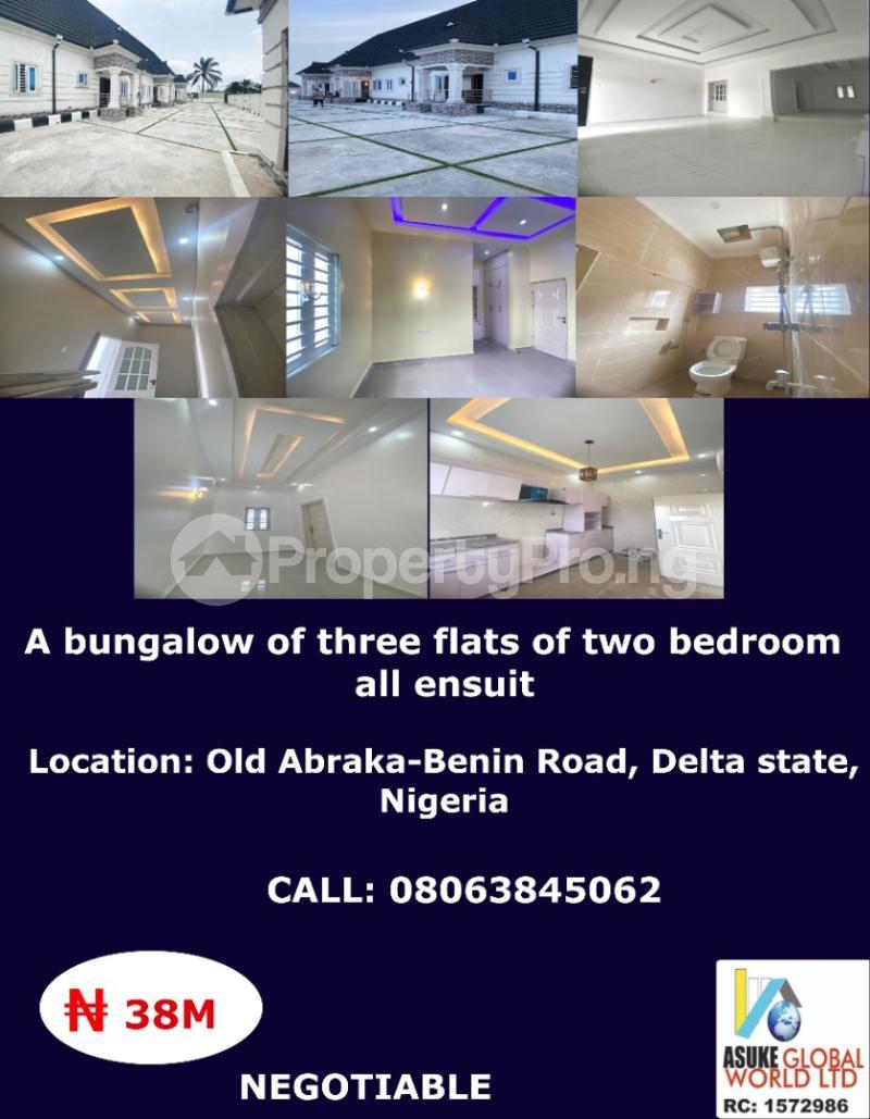 2 bedroom House for sale Old Abraka Benin road ,Delta state Nigeria Ethiope East Delta - 0