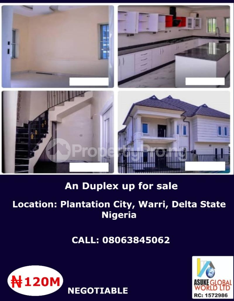 House for sale Plantation City,warri Delta State Nigeria Warri Delta - 0