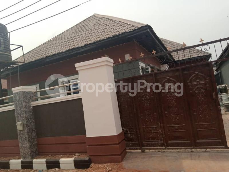 4 bedroom Detached Bungalow for sale Area N World Bank New Owerri, Besides Urban Development Secondary School Owerri Imo - 0