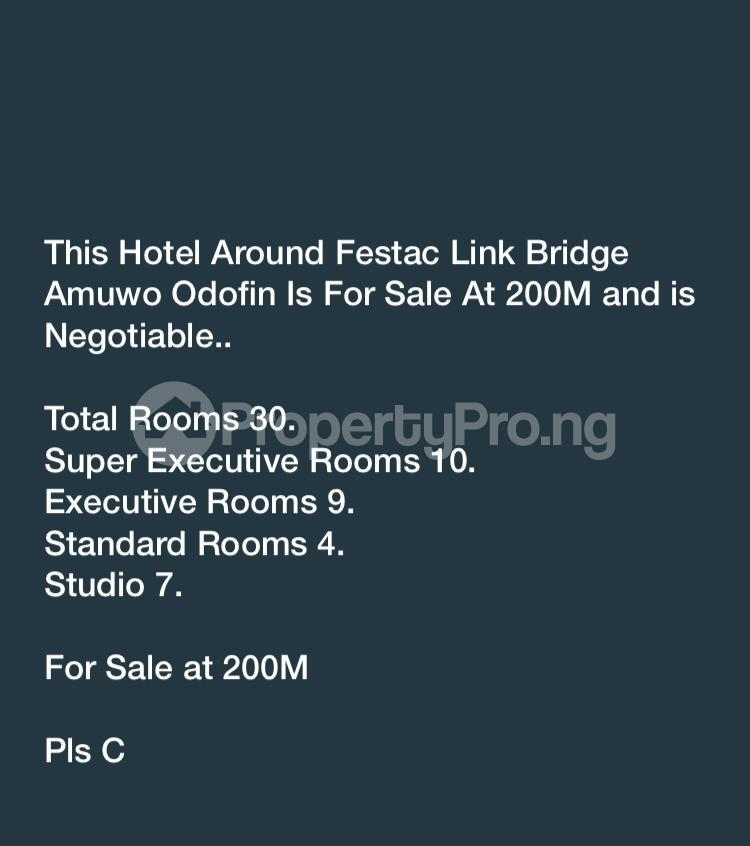 10 bedroom Hotel/Guest House Commercial Property for sale Fastac  Festac Amuwo Odofin Lagos - 3