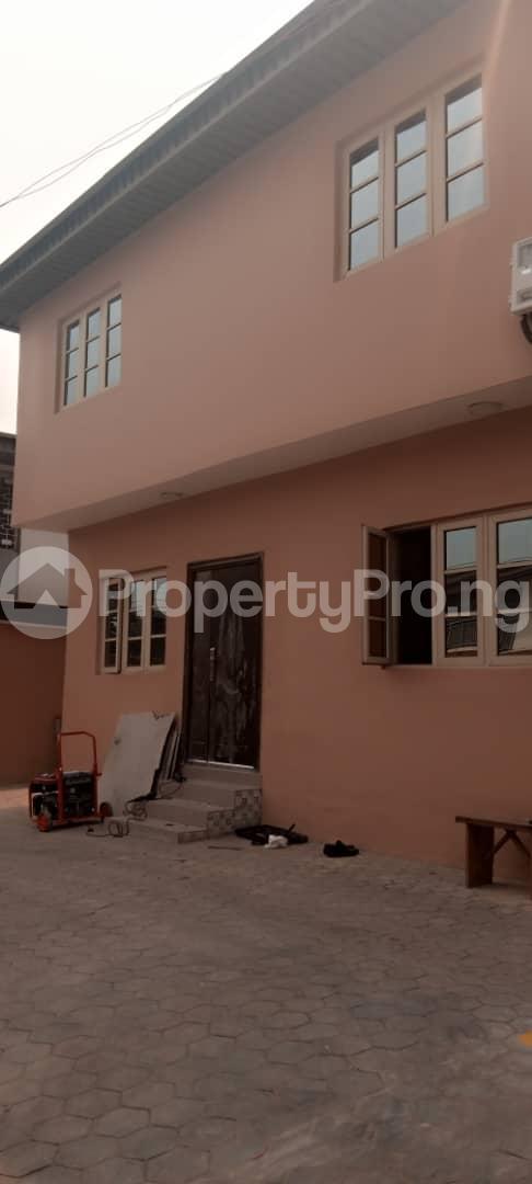 2 bedroom Shared Apartment for rent Onipinla Lane Close Harmony Estate Adeniyi Jones Adeniyi Jones Ikeja Lagos - 1