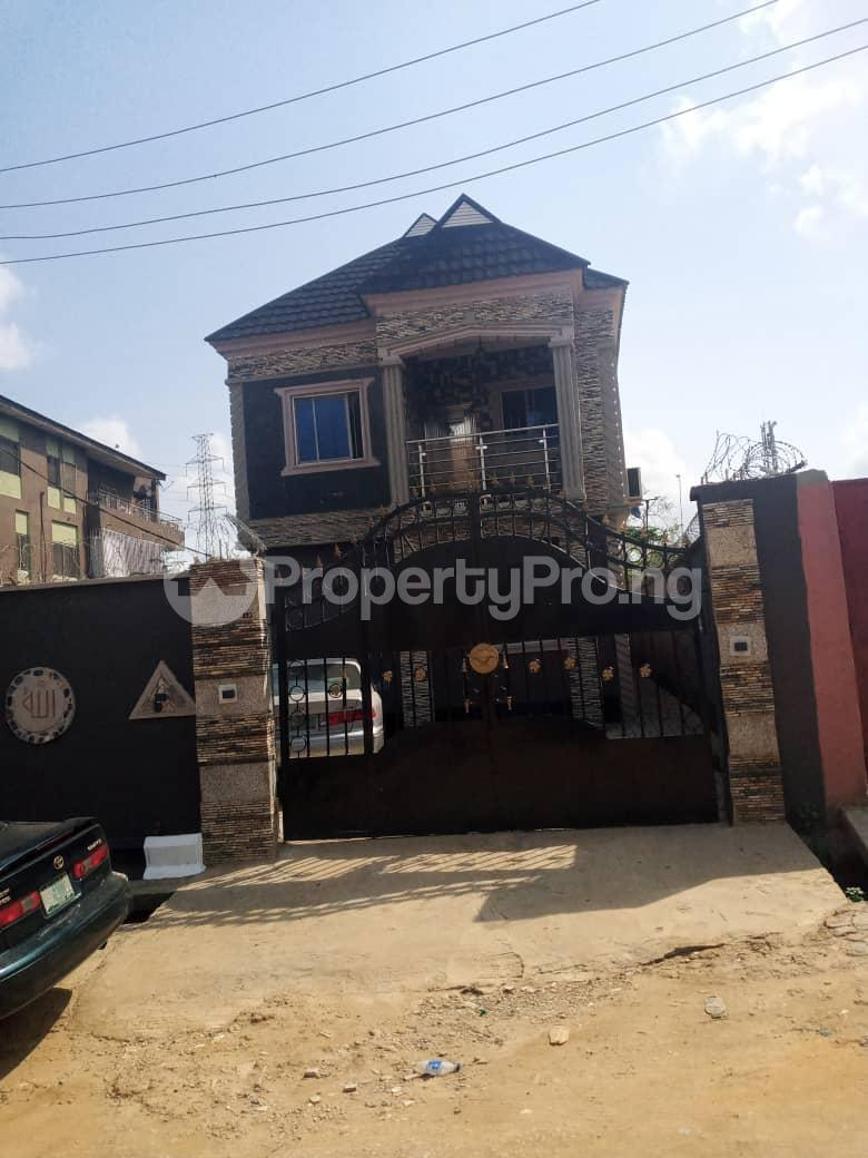 1 bedroom Mini flat for rent Off Estate Road Alapere Ketu Lagos - 0