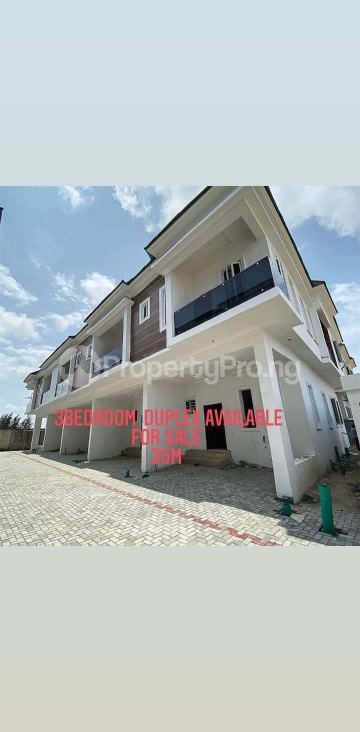 3 bedroom Terraced Duplex for sale 2nd Toll Gate Chevron Lekki Phase 2 Lekki Lagos - 0