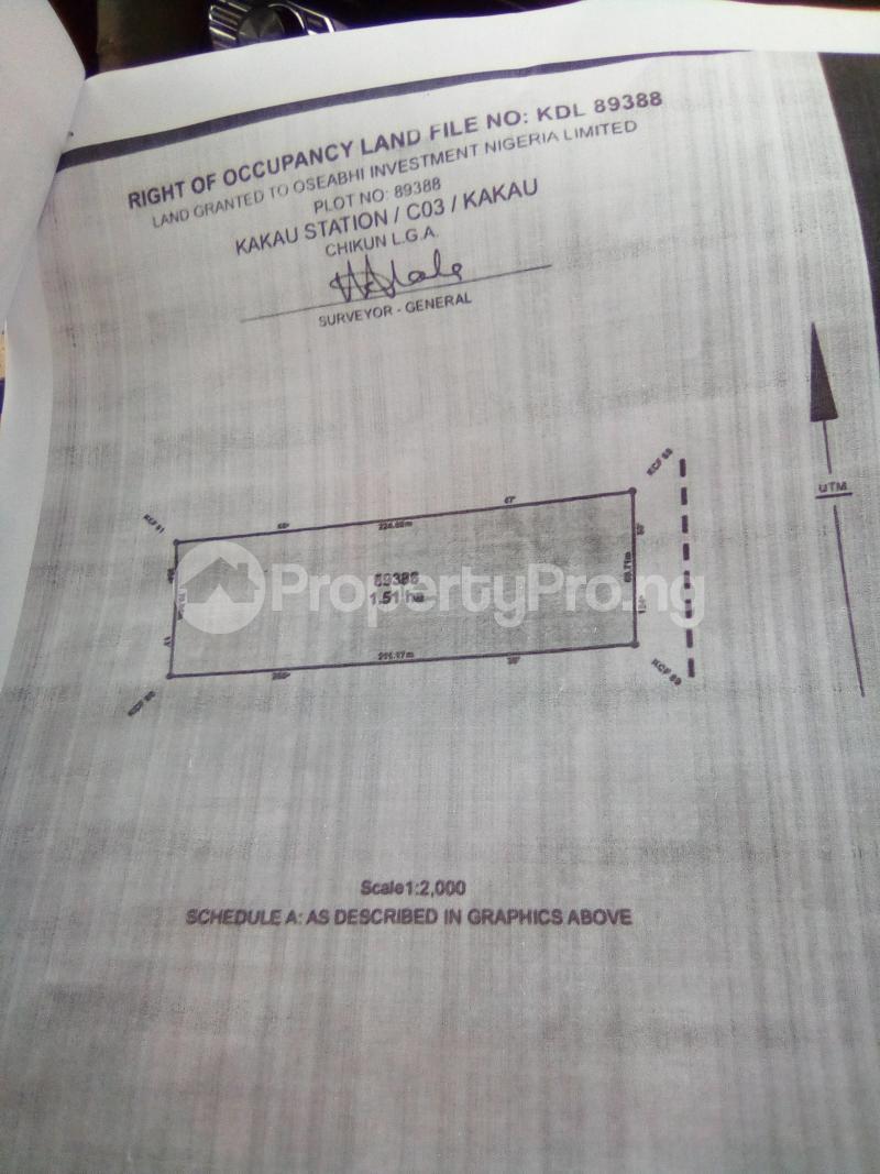 Commercial Land Land for sale Along Kakua Abuja Kaduna Expressway Kaduna South Kaduna - 4