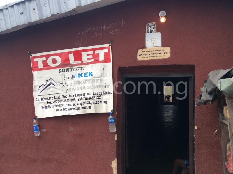 1 bedroom House for rent 15, Market Street. Iganmu Orile Lagos - 0