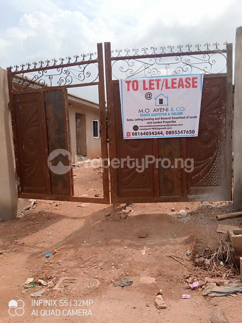 1 bedroom Mini flat for rent Diamond Estate Trailer Pack After Life Forth International School Apete Ido Oyo - 0