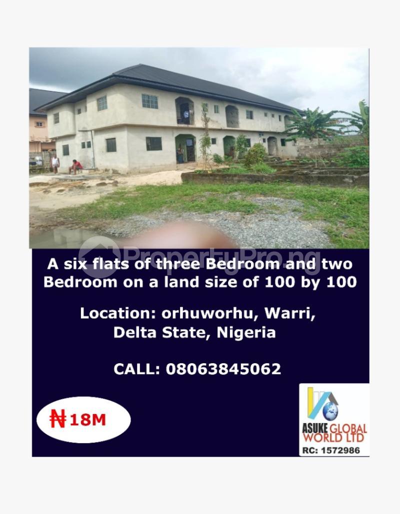 House for sale Orhuwhorun ,warri Delta state Nigeria Udu Delta - 0