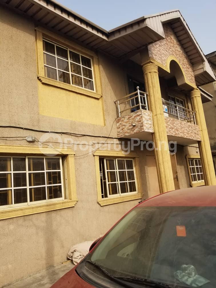 Blocks of Flats House for sale BY CHARITY  BUS STOP Oshodi Expressway Oshodi Lagos - 0