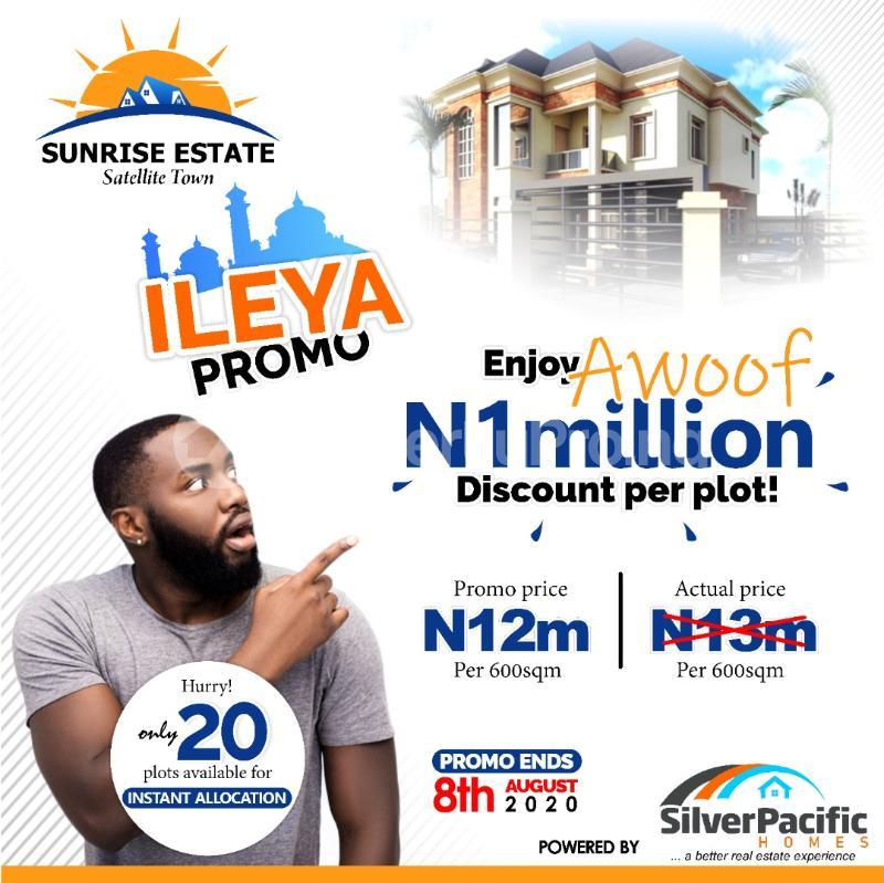 Residential Land for sale Satellite Town Festac Festac Amuwo Odofin Lagos - 7