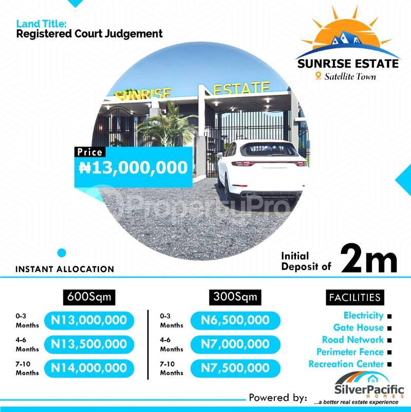 Residential Land for sale Satellite Town Festac Festac Amuwo Odofin Lagos - 0
