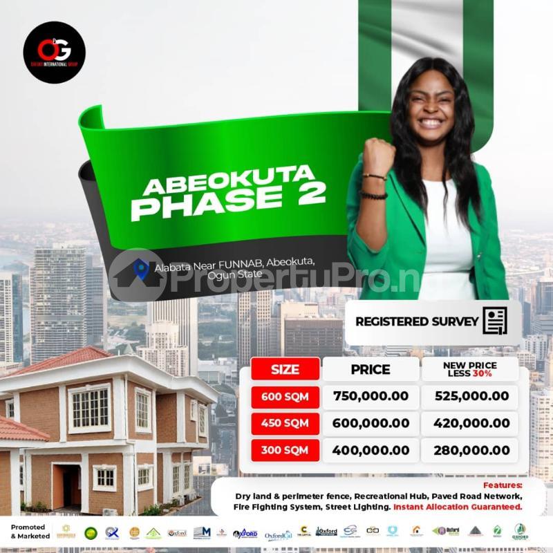Land for sale Abeokuta Ogun - 0