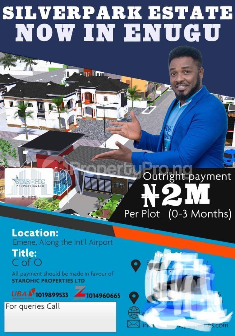 Residential Land Land for sale Along Umunnamede Awoji/Ugwuomu Nike,Emene  Enugu Enugu - 0