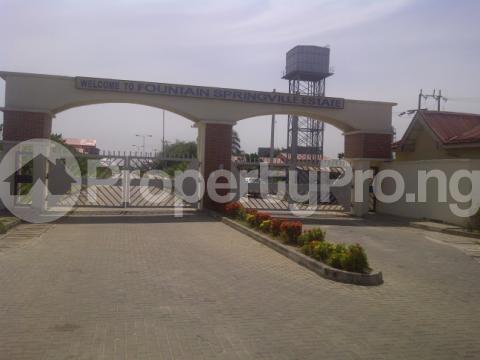 Serviced Residential Land Land for sale Fountain springville estate  Sangotedo Ajah Lagos - 0
