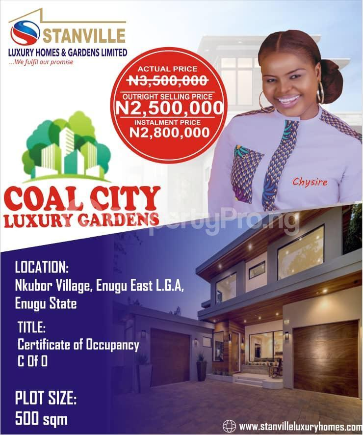 Commercial Land Land for sale NKUBOR VILLAGE BY CARITAS AND GODFREY OKOYE UNIVERSITIES EMENE ENUGU Enugu Enugu - 0