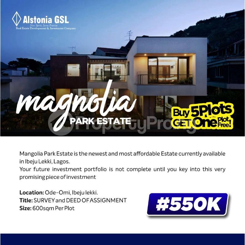Residential Land Land for sale Magnolia Park Akodo Ise Ibeju-Lekki Lagos - 0