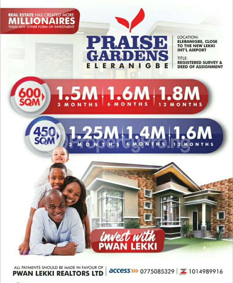 Serviced Residential Land Land for sale lgbogun Town LaCampaigne Tropicana Ibeju-Lekki Lagos - 0