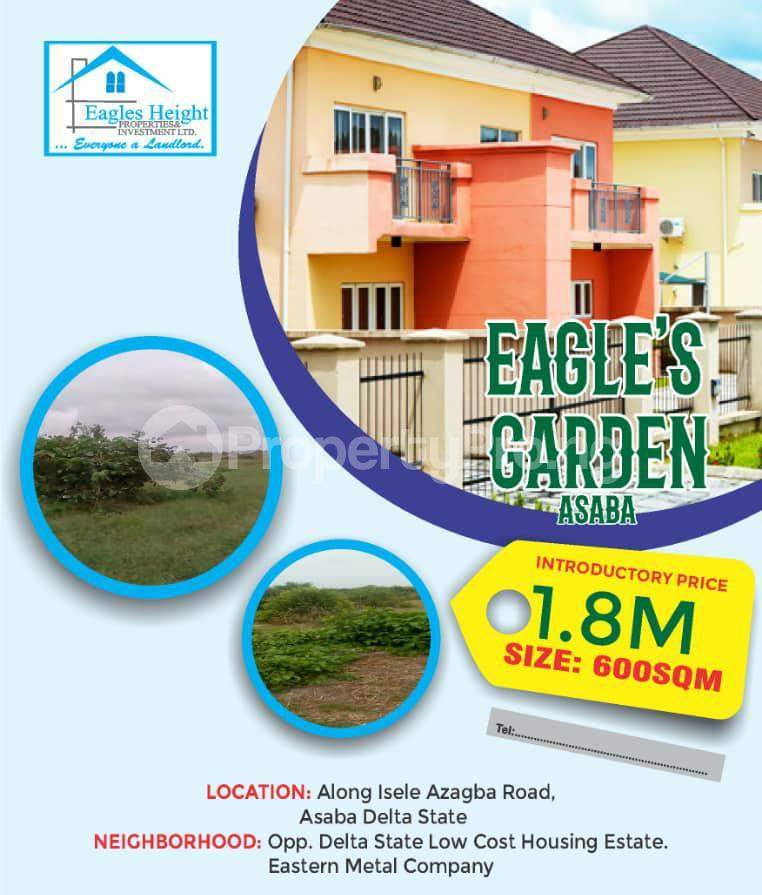Residential Land for sale Eagles Garden Estate Along Isle Azagba Road Asaba Delta Asaba Delta - 1