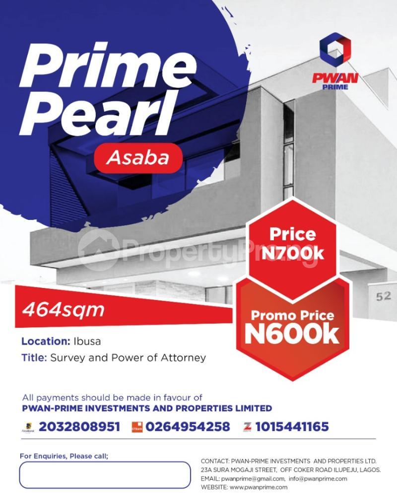 Residential Land Land for sale Asaba Asaba Delta - 0