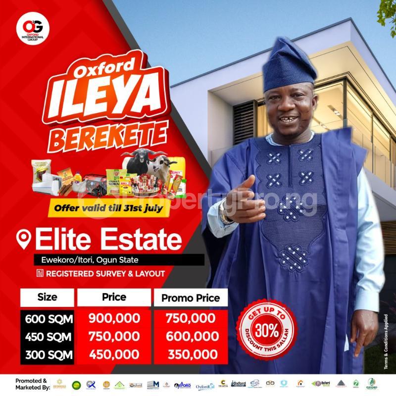 Residential Land for sale Ewekoro/itori Ewekoro Ogun - 0