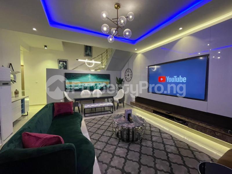 4 bedroom Terraced Duplex for shortlet Osapa Osapa london Lekki Lagos - 1