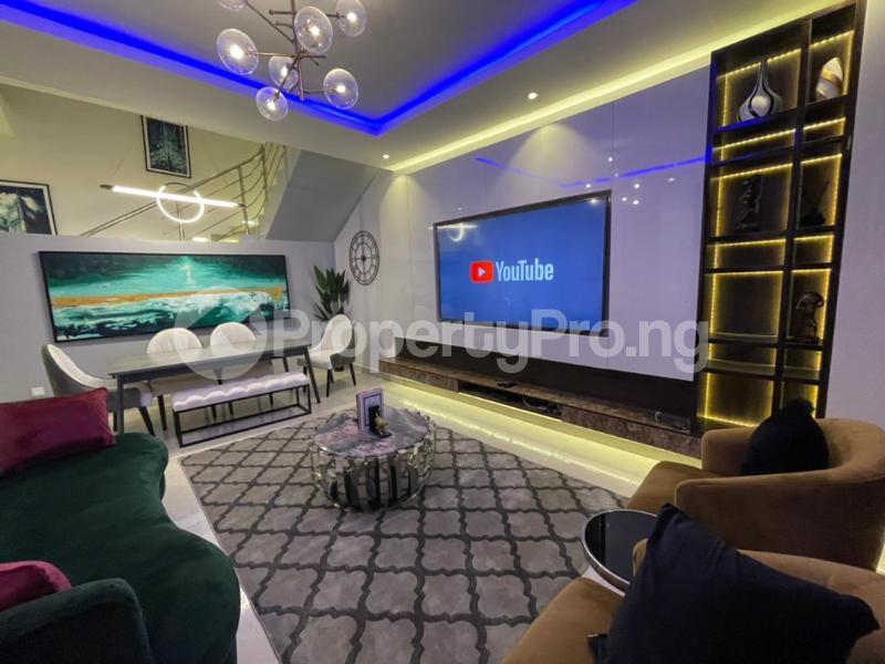 4 bedroom Terraced Duplex for shortlet Osapa Osapa london Lekki Lagos - 0