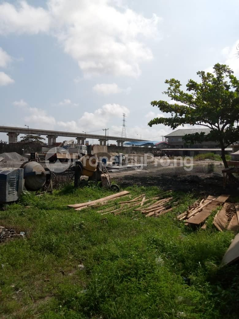 Commercial Land Land for sale Jimoh Odutola Street off Eric Moore  Bode Thomas Surulere Lagos - 2