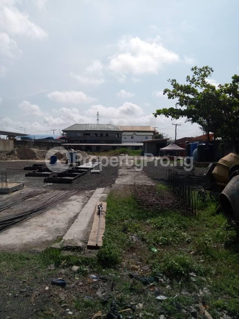 Commercial Land Land for sale Jimoh Odutola Street off Eric Moore  Bode Thomas Surulere Lagos - 0