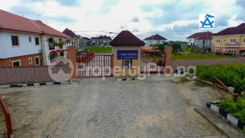 Serviced Residential Land Land for sale Amity Estate, 2Min Drive From Shoprite. Sangotedo Lagos - 1