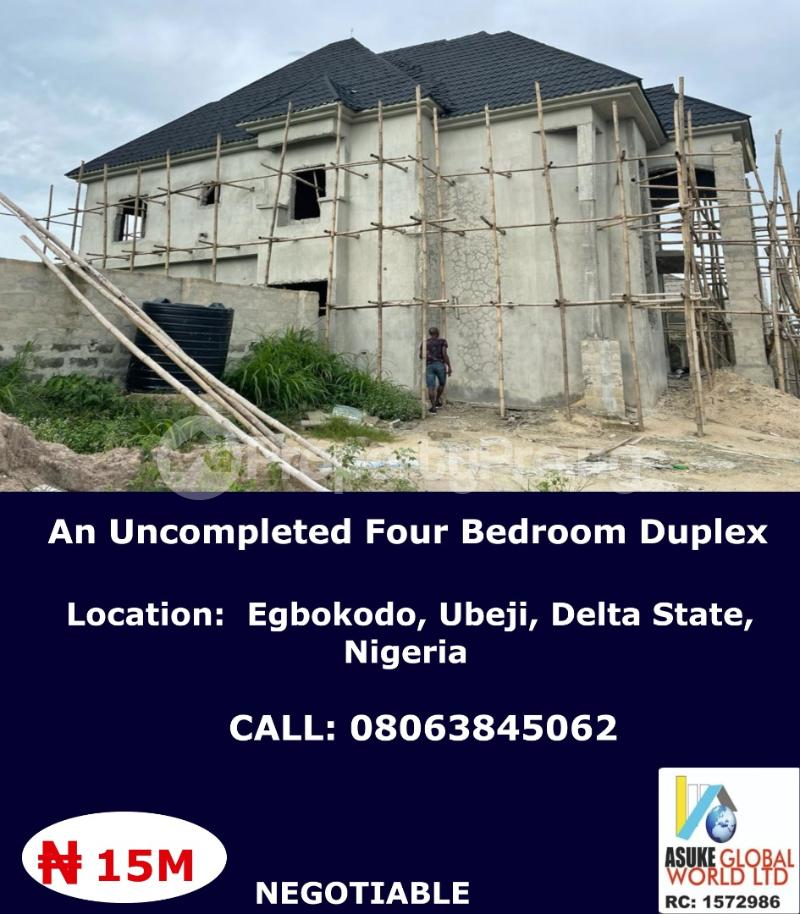 4 bedroom House for sale Egbokodo ,Ubeji Delta state Warri Delta - 0