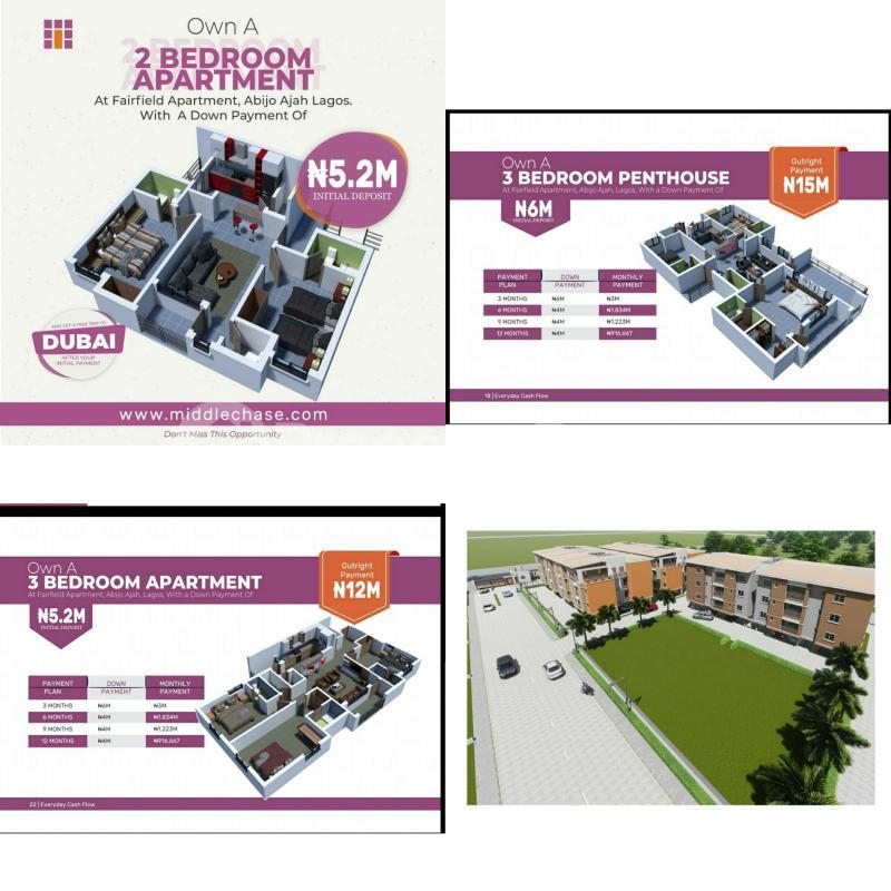 2 bedroom Mini flat Flat / Apartment for sale Abilo GRA Lagos Abijo Ajah Lagos - 0