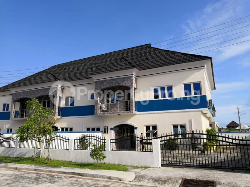 3 bedroom Terraced Duplex for sale Off Abraham Adesanya Road. Atican Beach Road, Okun Ajah, Lekki Schemeii Okun Ajah Ajah Lagos - 2