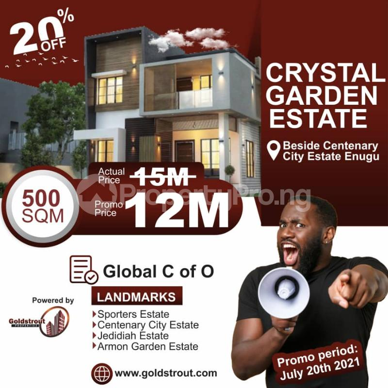 Mixed   Use Land for sale Crystal Garden Estate Enugu Enugu - 1