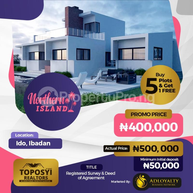 Residential Land for sale Ido Ibadan Oyo - 0