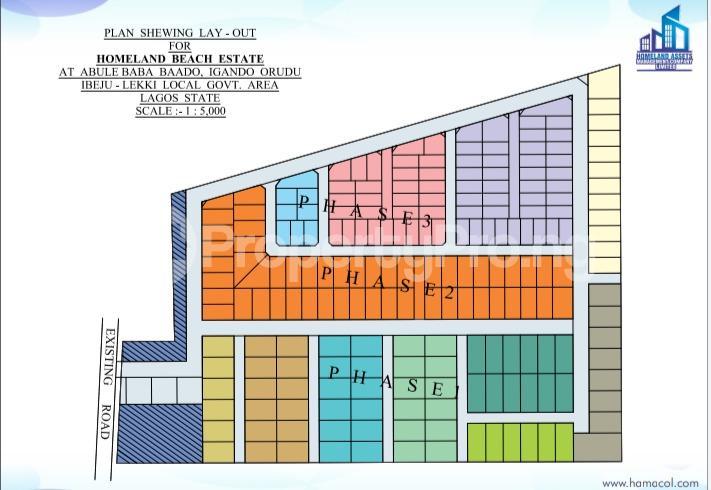 Residential Land for sale Costal Road Eleko Eleko Ibeju-Lekki Lagos - 0