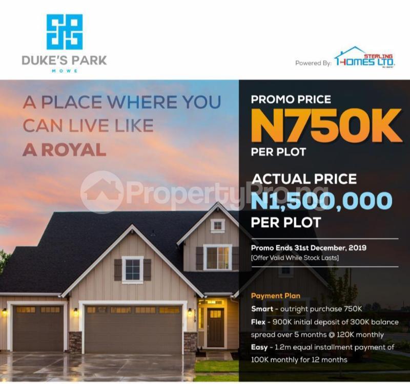 Residential Land Land for sale Around Apple & pears and International breweries plc Mowe Sagamu area. Sagamu Sagamu Ogun - 3