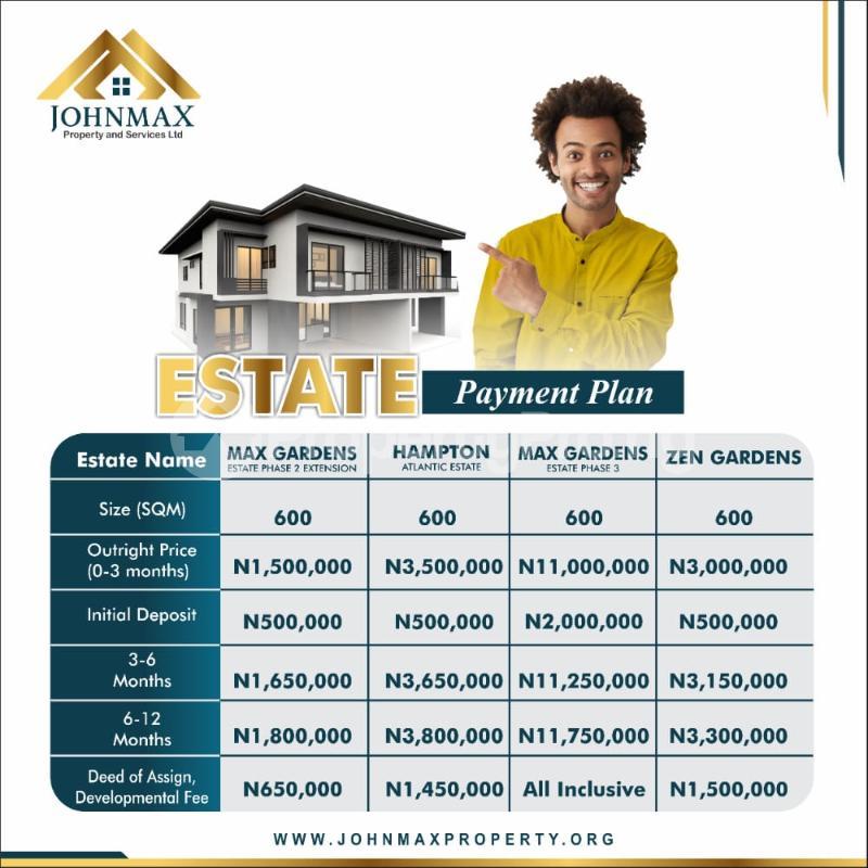 Residential Land for sale Costal Road Debojo, Eleko Lagos. Eleko Ibeju-Lekki Lagos - 1