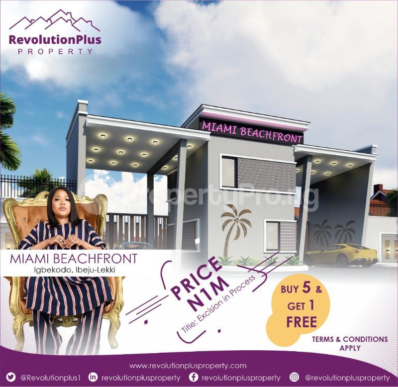 Residential Land for sale Igbokodo, After Lacampagne Tropicana Resort Akodo Ise Ibeju-Lekki Lagos - 0