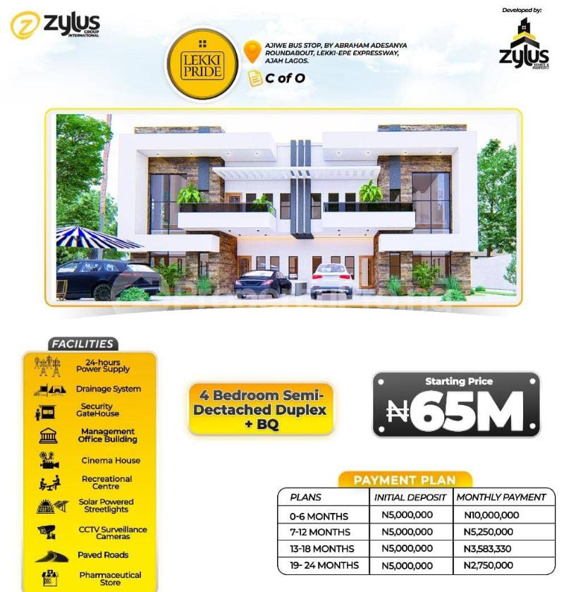 3 bedroom Flat / Apartment for sale Lekki Pride Estate, Lekki Scheme Two Abraham adesanya estate Ajah Lagos - 4