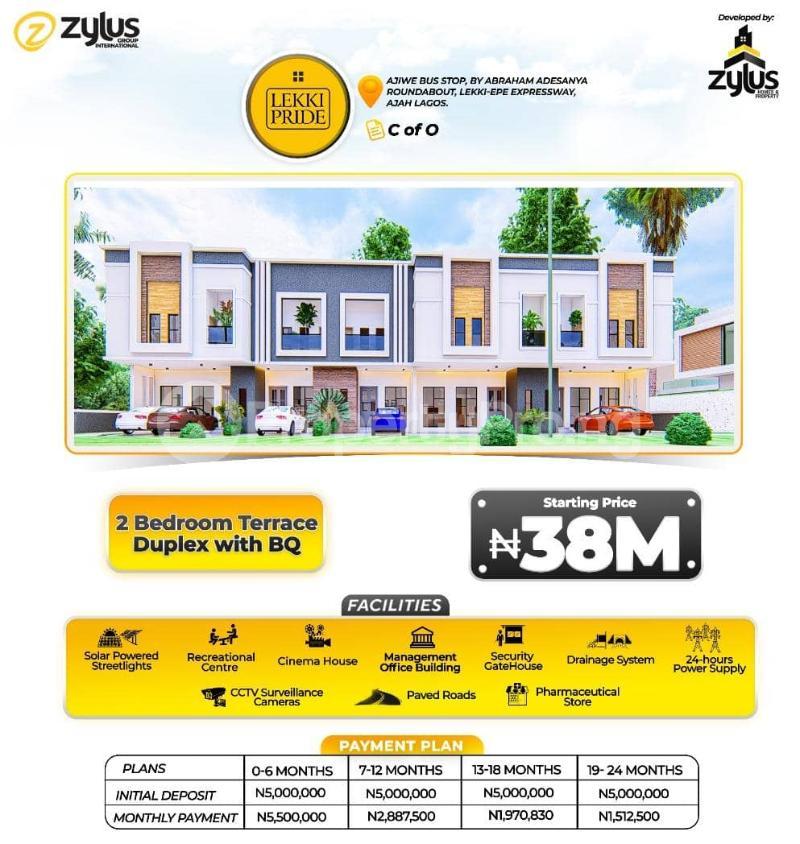 3 bedroom Flat / Apartment for sale Lekki Pride Estate, Lekki Scheme Two Abraham adesanya estate Ajah Lagos - 2