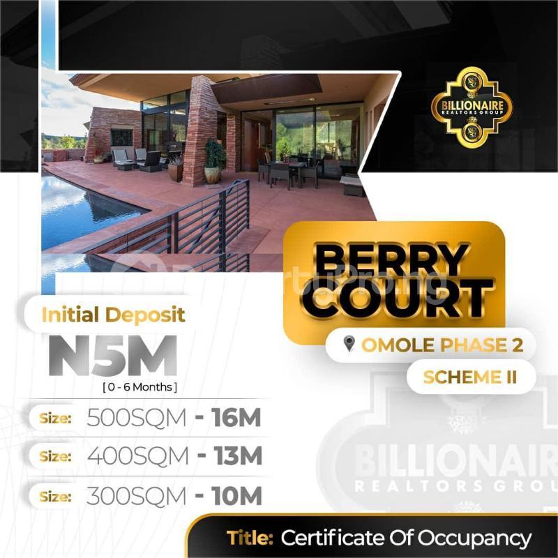Serviced Residential Land for sale Omole Phase 2 Kosofe/Ikosi Lagos - 3