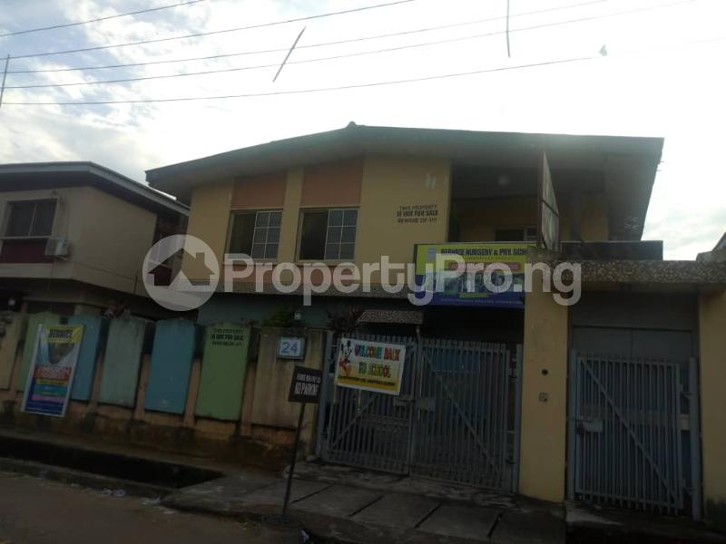 Blocks of Flats House for sale Asoland street Mafoluku Oshodi Lagos - 4