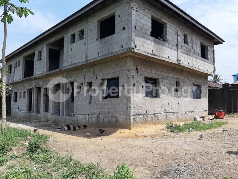 2 bedroom Flat / Apartment for sale Areta Layout Back Of Nnpc Quarters, Port Harcourt Rumuokwurushi Port Harcourt Rivers - 1