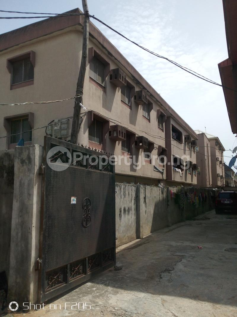 3 bedroom Blocks of Flats House for sale Canal Estate, okota, isolo Isolo Lagos - 1