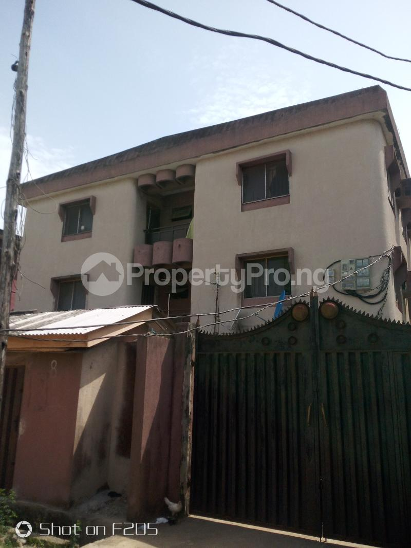 3 bedroom Blocks of Flats House for sale Canal Estate, okota, isolo Isolo Lagos - 0