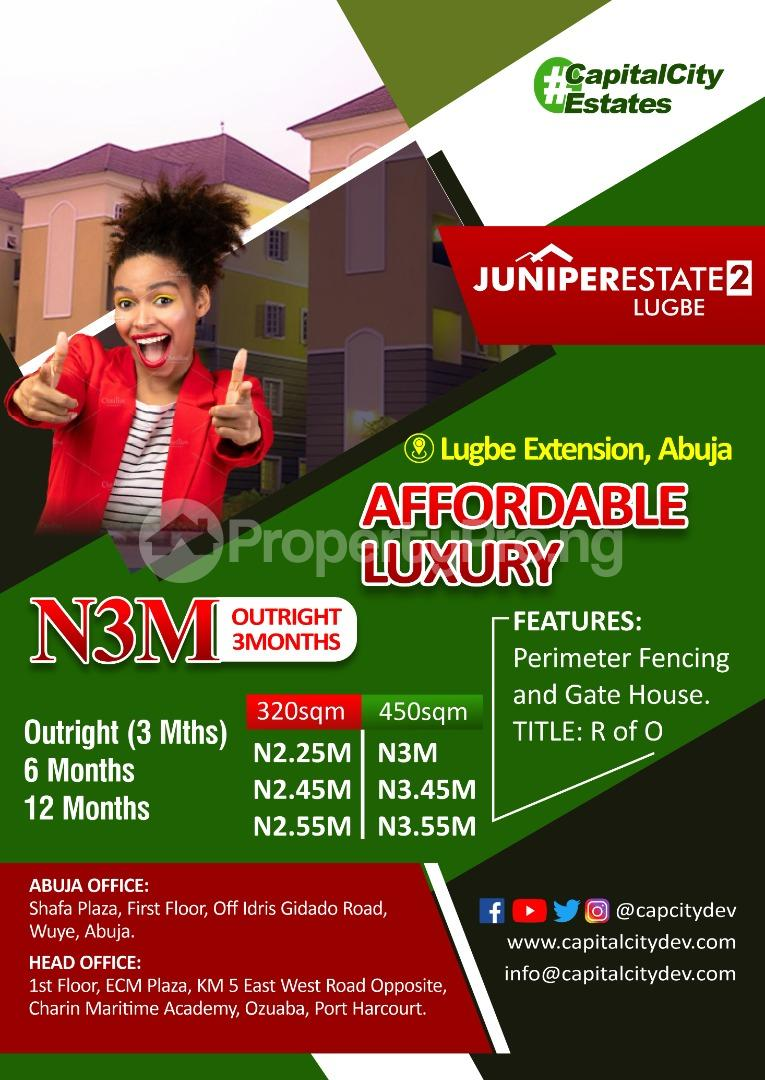 Residential Land for sale S Lugbe Abuja - 0