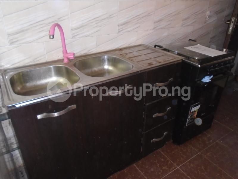 1 bedroom mini flat  Mini flat Flat / Apartment for rent off bode thomas Bode Thomas Surulere Lagos - 1