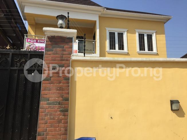 5 bedroom Semi Detached Duplex House for rent estate Adeniyi Jones Ikeja Lagos - 1