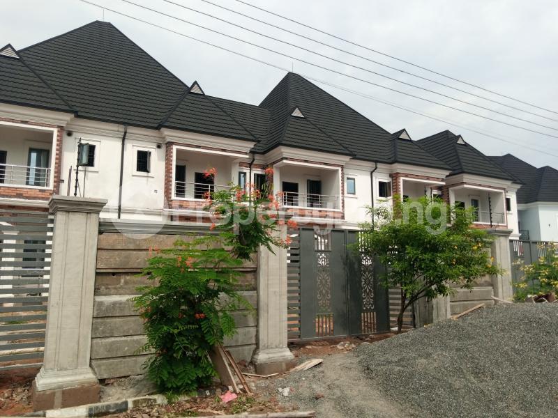 3 bedroom Semi Detached Duplex for rent Shell Cooperative Estate Eliozu Port Harcourt Rivers - 0