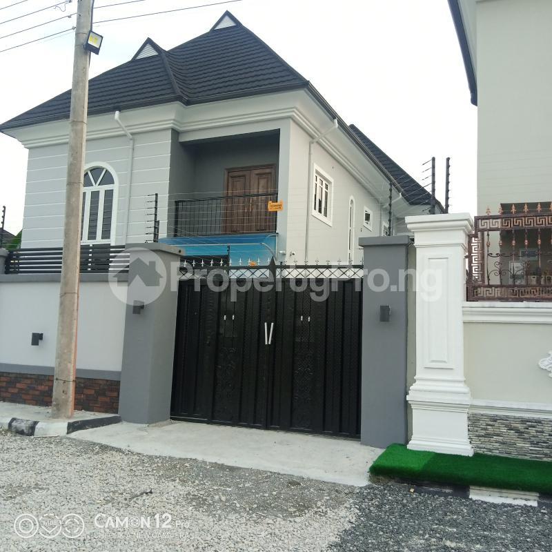 4 bedroom Semi Detached Duplex House for rent Shell Cooperative Estate Eliozu Port Harcourt Rivers - 1